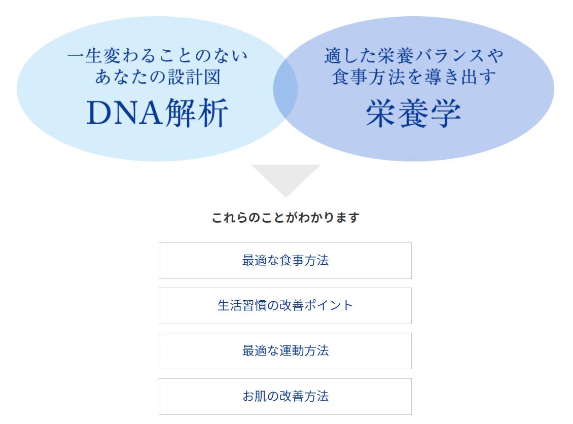 DNA解析、栄養学